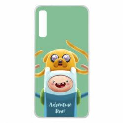 Чехол для Samsung A7 2018 Finn and Jake Art - FatLine