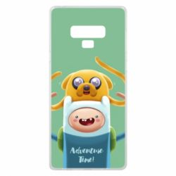 Чехол для Samsung Note 9 Finn and Jake Art - FatLine