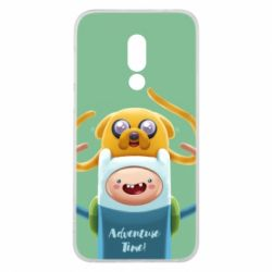 Чехол для Meizu 16 Finn and Jake Art - FatLine
