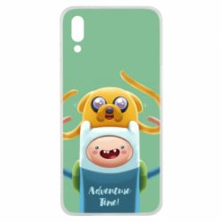 Чехол для Meizu E3 Finn and Jake Art - FatLine