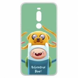 Чехол для Meizu V8 Pro Finn and Jake Art - FatLine