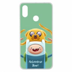 Чехол для Xiaomi Mi Max 3 Finn and Jake Art - FatLine