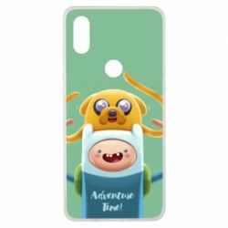 Чехол для Xiaomi Mi Mix 3 Finn and Jake Art - FatLine