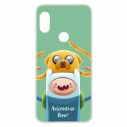 Чехол для Xiaomi Redmi Note 6 Pro Finn and Jake Art - FatLine
