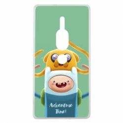 Чехол для Sony Xperia XZ2 Premium Finn and Jake Art - FatLine