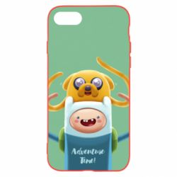 Чехол для iPhone 8 Finn and Jake Art - FatLine
