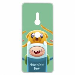 Чехол для Sony Xperia XZ3 Finn and Jake Art - FatLine