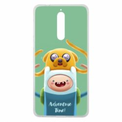 Чехол для Nokia 8 Finn and Jake Art - FatLine