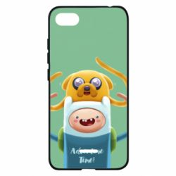 Чехол для Xiaomi Redmi 6A Finn and Jake Art - FatLine