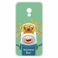 Чехол для Meizu 15 Lite Finn and Jake Art - FatLine