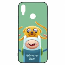 Чехол для Huawei P Smart Plus Finn and Jake Art - FatLine