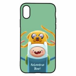 Чехол для iPhone X/Xs Finn and Jake Art - FatLine
