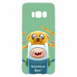 Чехол для Samsung S8 Finn and Jake Art - FatLine