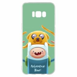 Чехол для Samsung S8+ Finn and Jake Art - FatLine