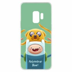 Чехол для Samsung S9 Finn and Jake Art - FatLine