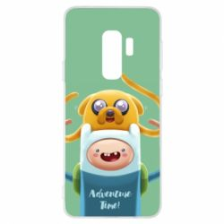 Чехол для Samsung S9+ Finn and Jake Art - FatLine
