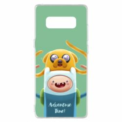 Чехол для Samsung Note 8 Finn and Jake Art - FatLine