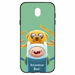 Чехол для Samsung J7 2017 Finn and Jake Art - FatLine