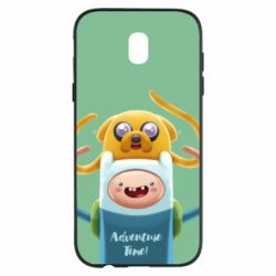 Чехол для Samsung J5 2017 Finn and Jake Art - FatLine