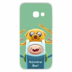Чехол для Samsung A3 2017 Finn and Jake Art - FatLine