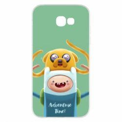 Чехол для Samsung A7 2017 Finn and Jake Art - FatLine