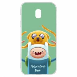 Чехол для Samsung J3 2017 Finn and Jake Art - FatLine