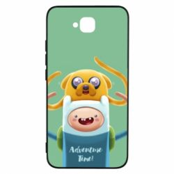 Чехол для Huawei Y6 Pro Finn and Jake Art - FatLine