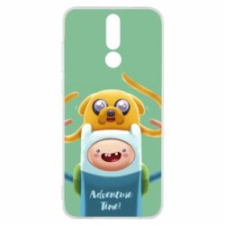 Чехол для Huawei Mate 10 Lite Finn and Jake Art - FatLine