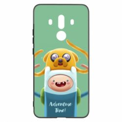 Чехол для Huawei Mate 10 Pro Finn and Jake Art - FatLine