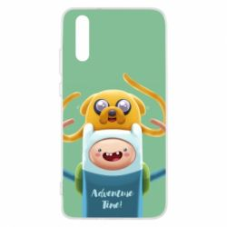 Чехол для Huawei P20 Finn and Jake Art - FatLine