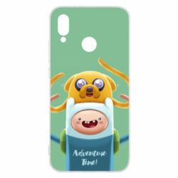 Чехол для Huawei P20 Lite Finn and Jake Art - FatLine