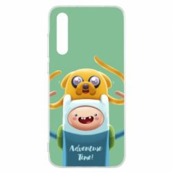 Чехол для Huawei P20 Pro Finn and Jake Art - FatLine