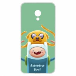 Чехол для Meizu M5 Finn and Jake Art - FatLine