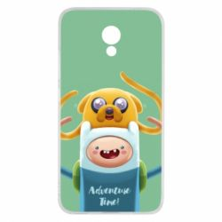 Чехол для Meizu M5c Finn and Jake Art - FatLine