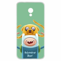 Чехол для Meizu M5s Finn and Jake Art - FatLine
