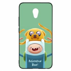 Чехол для Meizu M5 Note Finn and Jake Art - FatLine