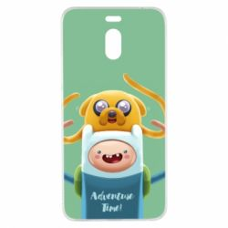 Чехол для Meizu M6 Note Finn and Jake Art - FatLine