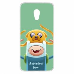 Чехол для Meizu Pro 6 Plus Finn and Jake Art - FatLine