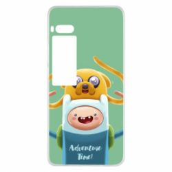 Чехол для Meizu Pro 7 Finn and Jake Art - FatLine
