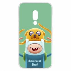 Чехол для Meizu 15 Finn and Jake Art - FatLine
