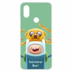 Чехол для Xiaomi Mi A2 Finn and Jake Art - FatLine