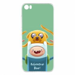 Чехол для Xiaomi Xiaomi Mi5/Mi5 Pro Finn and Jake Art - FatLine