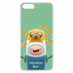 Чехол для Xiaomi Mi Note 3 Finn and Jake Art - FatLine