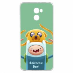 Чехол для Xiaomi Redmi 4 Finn and Jake Art - FatLine