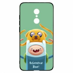 Чехол для Xiaomi Redmi 5 Finn and Jake Art - FatLine