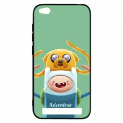 Чехол для Xiaomi Redmi 5a Finn and Jake Art - FatLine