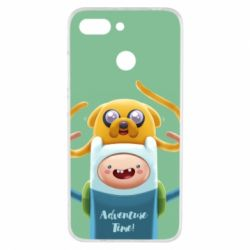 Чехол для Xiaomi Redmi 6 Finn and Jake Art - FatLine
