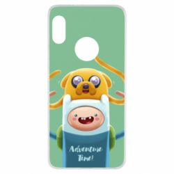 Чехол для Xiaomi Redmi Note 5 Finn and Jake Art - FatLine