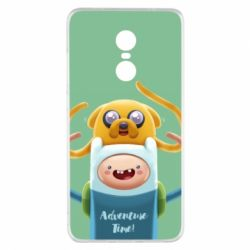 Чехол для Xiaomi Redmi Note 4x Finn and Jake Art - FatLine