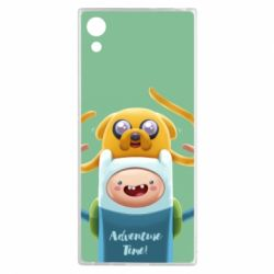 Чехол для Sony Xperia XA1 Finn and Jake Art - FatLine